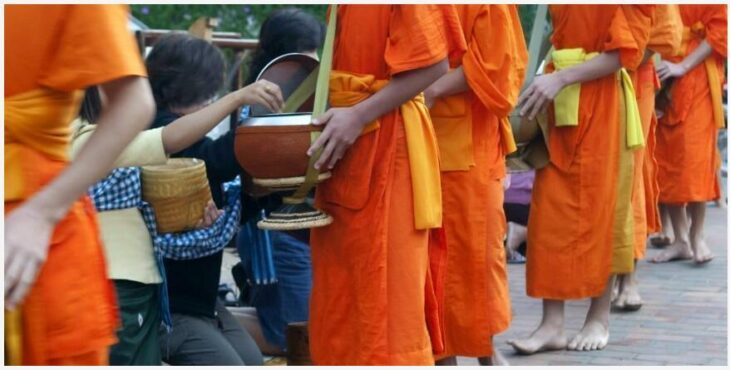 Beautiful nature and relaxed atmosphere in Luang Prabang