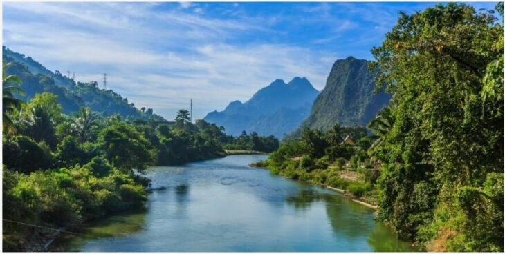 Tubeing and the Blue Lagoon in Vang Vieng